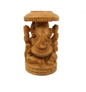Buy Wooden Ganesha Statue from Rajasthan online
