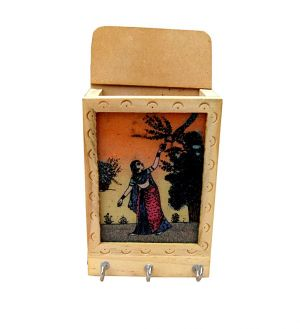 Buy Wooden Key Holder 2 from Rajasthan online
