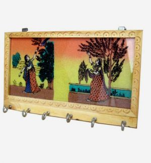Buy Wooden Key Holder 4 from Rajasthan online