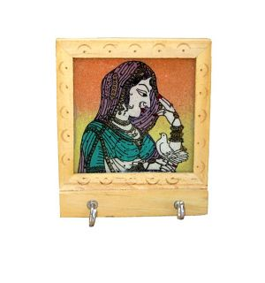 Buy Wooden Key Holder from Rajasthan online