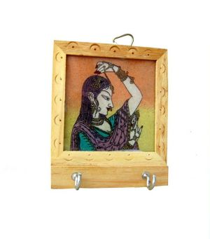 Buy Wooden Key Holder 12 from Rajasthan online
