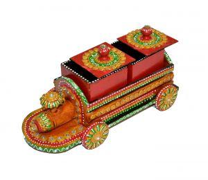 Buy Chitrahandicraft Dry Fruit Box 5 online