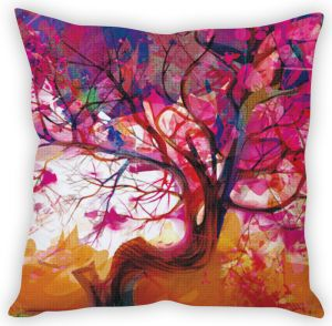 Buy Stybuzz Tree Art Cushion Cover online