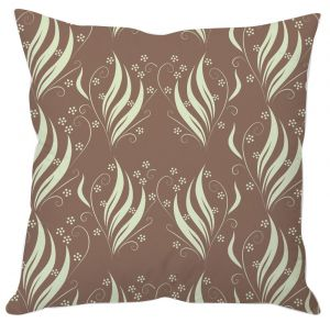 Buy Leaves And Flowers Abstract Cushion Cover online