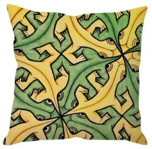 Buy Crazy Lizard Art Cushion Cover online