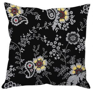 Buy Paisley Floral Art Cushion Cover online