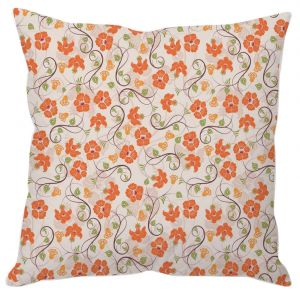 Buy Tiny Floral Art Cushion Cover online