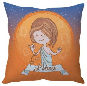 Buy Stybuzz Libra Zodiac Cushion Cover online