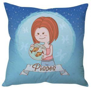 Buy Stybuzz Pisces Zodiac Cushion Cover online