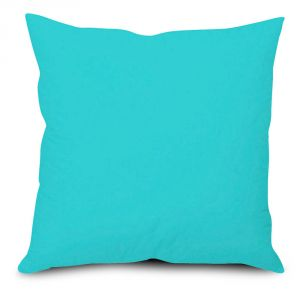 Buy Stybuzz Blue Solid Cushion Cover online
