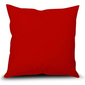 Buy Stybuzz Red Solid Cushion Cover online