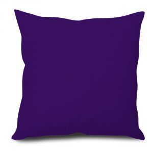 Buy Stybuzz Violet Solid Cushion Cover online