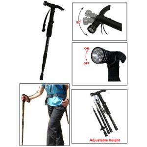 Buy Hiking Pole With 9-led Trekking Pole Walking Stick online