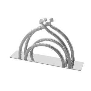 Buy Fabulloso Hammered Stainless Steel Tissue Stand online