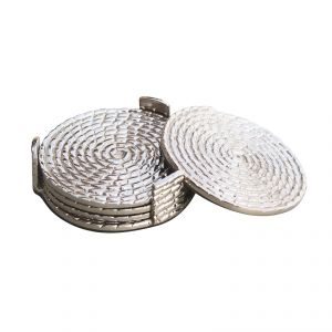 Buy Fabulloso Rope Stainless Steel Coaster online