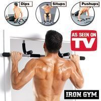 Buy Iron Gym Bar Height Pull Up Bar All In One Push Ups Dips Situps Home Gym online