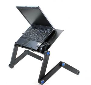 Buy Folding Table Stand For Notebook Laptop With Mouse Holder online