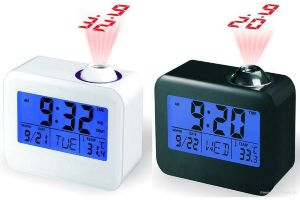 Buy Digital LCD Weather Temperature Talking Projection Alarm Clock - Tlkgpc online