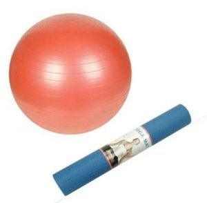 Buy Ball & Yoga Mat For Men And Women Gym Set Exercise online
