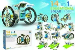 Buy Annie 14 In 1 Educational Solar Robot online