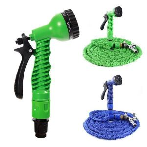 Buy Millennium Expandable Hose Compact Water Pipe Spray Gun Expands 15m/50ft. F online