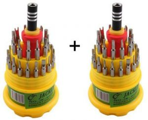 Buy Buy 1 Get 1 Free Jackly 31 In 1 Screwdriver Set Magnetic Toolkit online
