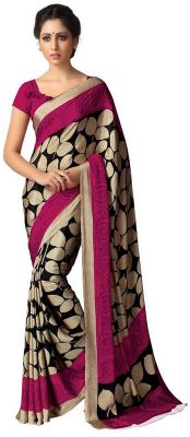 Buy Styloce Printed Art Silk Saree Sty-8875 online