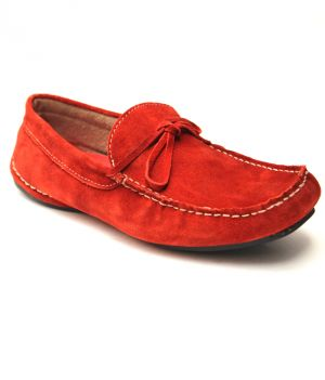 Guava Red Leather Loafer