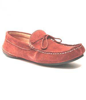 Buy Guava Claret Leather Loafer online