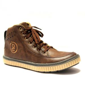 Buy Guava Pulse Casual Shoe Brown online