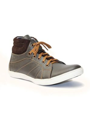 Buy Guava Chocolate Leather Casual Shoe online