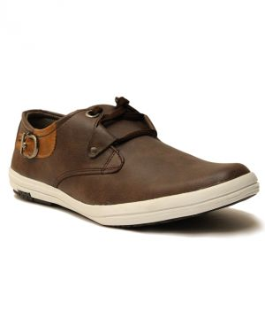 Buy Guava Stylish Brown Casual Shoes For Men - Product Code (gv15ja136) online