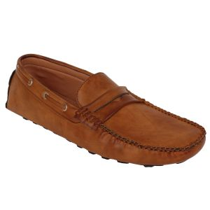 Buy Guava Driving Tan Loafers for Men online