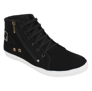 Buy Guava Casual Ankle Length Shoes - Black - Gv15ja261 online