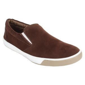 Buy Guava Casual Brown Slip-ons online