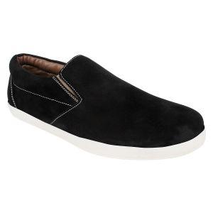 Buy Hirolas Men Casual Black Slip-ons - Hrl16003 online