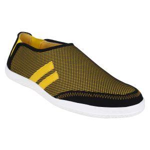 Buy Hirolas Men Neo Slip-ons - Yellow - Hrl16008 online