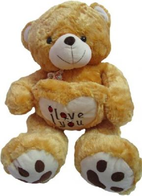 f63a6376df9e2 Buy Teddy Bear Soft Toy 2.5 Feet Brown Holding 20 Cm Online
