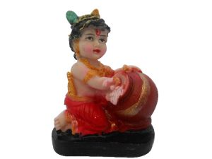 Buy Gci Marble Beautiful Colorful Krishna online