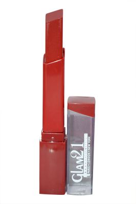 Buy Glam 21 Lipstick With Liner & Rubber Band - Rpaa-s17-(code-gm-s3188-s17-lpsk-lt28-m-eylnr-fl) online