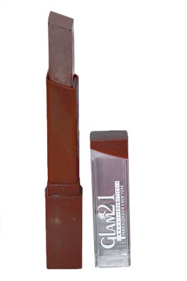 Buy Glam 21 Lipstick With Liner & Rubber Band - Rpaa-s7-(code-gm-s3188-s7-lpsk-lt28-m-eylnr-fl) online
