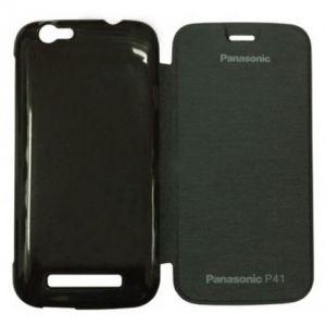 Buy Gci Flip Cover For Panasonic P41 (black) online