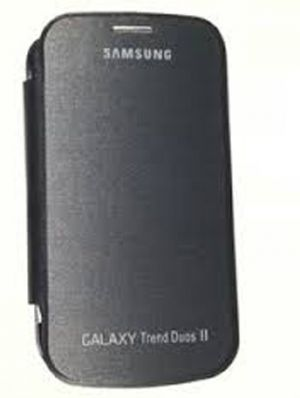Buy Gci Flip Cover For Samsung Galaxy Trend Duos2 (black) online