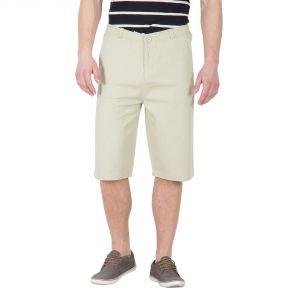 Buy Hypernation Beige Color Casual Shorts For Men online