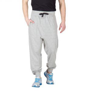 Buy Hypernation Light Grey Color Solid Track Pant For Men online