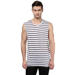 Buy Hypernation Striped Men's Round Neck T-shirt online