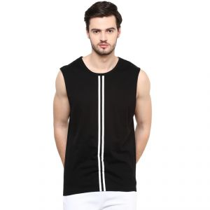 56f272f8f39 Buy Hypernation Solid Men s Round Neck Muscle T-Shirt Online