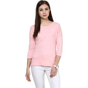Buy Hypernation Solid Women Round Neck T-shirt online