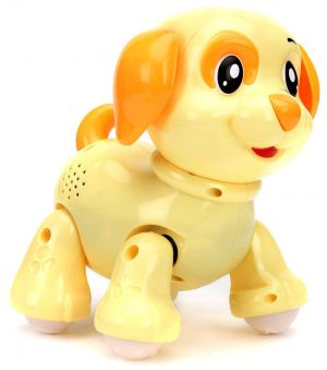 Mitashi Skykidz Pet Party Puppy - Light Yellow