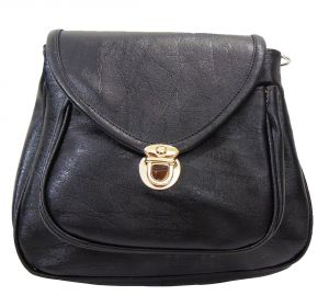 Buy Estoss Black Sling Bag online